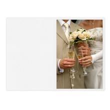 Falt- / Doppelkarte zino white 17x23 cm 210g/m² Produktbild