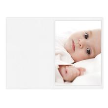 Falt- / Doppelkarte zino white 21x29,7 cm 210g/m² Produktbild