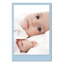 Einzelkarte zino baby blue 6,5x9,5 cm 280g/m² Produktbild
