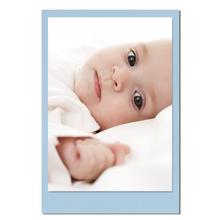 Einzelkarte zino baby blue 8,5x13,5 cm 280g/m² Produktbild