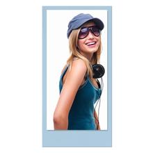 Einzelkarte zino baby blue 10,5x21 cm 280g/m² Produktbild