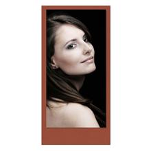 Einzelkarte zino Terracotta 10,5x21 cm 280g/m² Produktbild