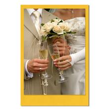 Einzelkarte zino Yellow 6,5x9,5 cm 280g/m² Produktbild