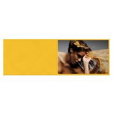 Falt- / Doppelkarte zino Yellow 10,5x31 cm 280g/m² Produktbild