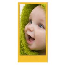 Einzelkarte zino Yellow 10,5x21 cm 280g/m² Produktbild
