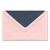 Umschlag zino baby pink 9,5x14,5 cm 100g/m² Produktbild Additional View 3 2XS