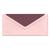 Umschlag zino baby pink 11x22,5 cm 100g/m² Produktbild Front View 2XS