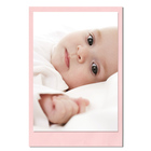 Einzelkarte zino baby pink 9x14 cm 280g/m² Produktbild
