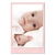 Einzelkarte zino baby pink 9x14 cm 280g/m² Produktbild Front View 2XS