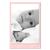 Einzelkarte zino baby pink 9x14 cm 280g/m² Produktbild Additional View 2 2XS