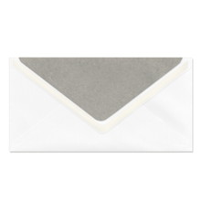 Umschlag lavinia White 11x22,5 cm 135g/m² Produktbild