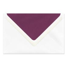 Umschlag lavinia White 12x18 cm 135g/m² Produktbild