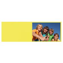 Falt- / Doppelkarte lavinia Limone 17x23 cm 300g/m² Produktbild