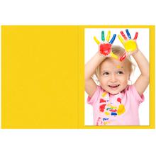 Falt- / Doppelkarte lavinia Mango 10,5x31 cm 300g/m² Produktbild