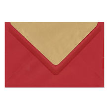 Umschlag lavinia Love Red 12x18 cm 120g/m² Produktbild