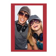Einzelkarte lavinia Love Red 6,5x9,5 cm 300g/m² Produktbild