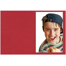 Falt- / Doppelkarte lavinia Love Red 10,5x31 cm 300g/m² Produktbild
