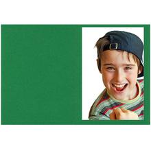 Falt- / Doppelkarte lavinia Green 10,5x31 cm 300g/m² Produktbild