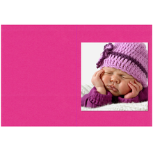 Falt- / Doppelkarte lavinia Pink Vanilla 17x23 cm 165g/m² Produktbild
