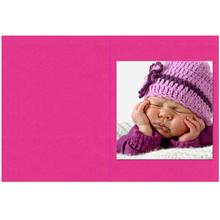 Falt- / Doppelkarte lavinia Pink Vanilla 10,5x31 cm 300g/m² Produktbild