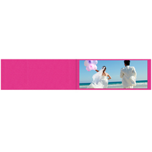 Falt- / Doppelkarte lavinia Pink Vanilla 9x45 cm 300g/m² Produktbild