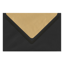 Umschlag lavinia Black 12x18 cm 120g/m² Produktbild