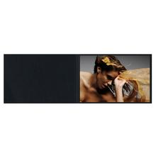 Falt- / Doppelkarte lavinia Black 17x23 cm 300g/m² Produktbild