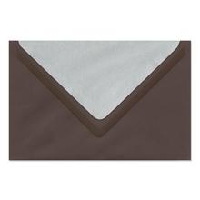 Umschlag lavinia Dark Brown 12x18 cm 120g/m² Produktbild