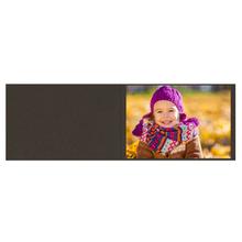 Falt- / Doppelkarte lavinia Dark Brown 17x23 cm 300g/m² Produktbild