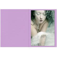 Falt- / Doppelkarte lavinia Lavender 10,5x31 cm 300g/m² Produktbild