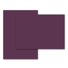Bogenware lavinia Bordeaux 16x20 cm 300g/m² Produktbild