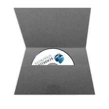DVD/CD-Tasche für CD und Pass-Bewerbungsbilder - grau Produktbild