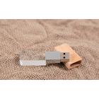 Kristall-Holz USB-Stick Produktbild
