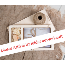 Rechteckige Fotobox aus Holz für 13x18 cm Fotos & sämtliche USB-Stick Größen Produktbild