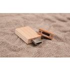 Holz USB Stick rechteckig Produktbild