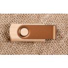 Holz USB Stick mit farbigem Metallklip Produktbild