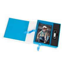 Print & USB-Flash-Drive Box für 10x15 cm Fotos & 18x65 mm USB-Stick Produktbild