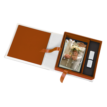 Print & USB-Flash-Drive Box für 10x15 cm Fotos & sämtliche USB-Stick Größen Produktbild