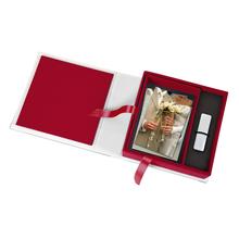 Print & USB-Flash-Drive Box für 13x18 cm Fotos & sämtliche USB-Stick Größen Produktbild
