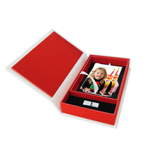 Print & USB-Flash-Drive Box für 13x19 cm Fotos & sämtliche USB-Stick Größen Produktbild
