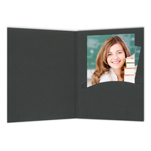 Mini Passbildmappen schwarz Produktbild