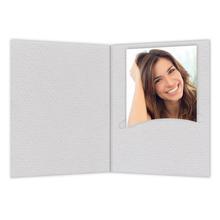 Mini Passbildmappen grau Produktbild