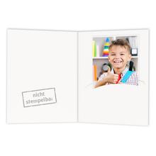 Mini Passbildmappen weiß gemischt Produktbild