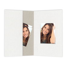 Passbildmappen mit Passepartout Graukarton 3,5x4,5 cm Produktbild