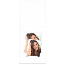 Pass-/Bewerbungsbildmappe Kombi weiß Produktbild