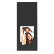 Pass-/Bewerbungsbildmappe Kombi schwarz Produktbild
