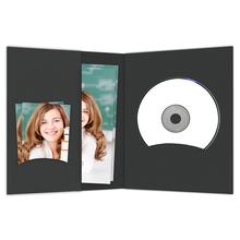 CD/DVD - Bewerbungsbildmappen schwarz Produktbild