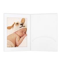 Portraitmappen mit Einsteckschlitz 13x18 cm weiß Produktbild