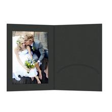 Portraitmappen mit Einsteckschlitz 13x18 cm schwarz Produktbild