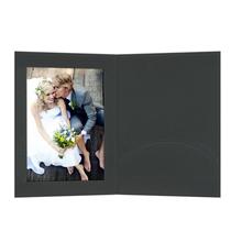 Portraitmappen mit Einsteckschlitz 15x20 cm schwarz Produktbild